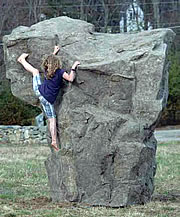 playground rocks xl-size boulder